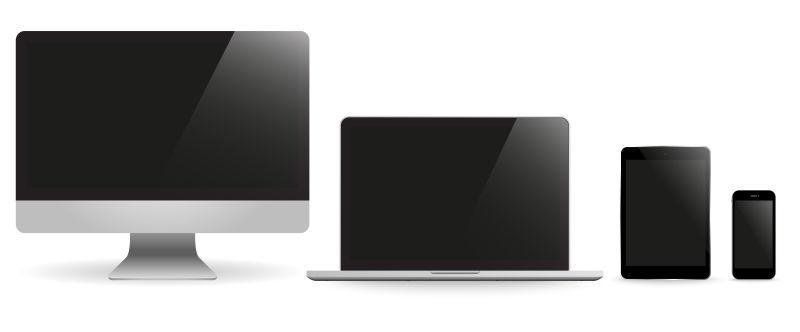台式机、笔记本、平板、手机